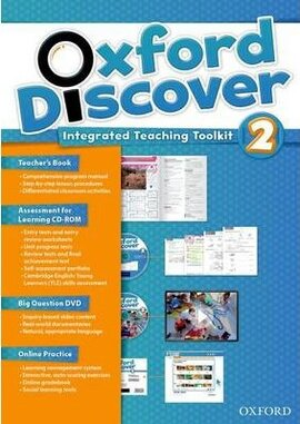 Oxford Discover 2. Integrated Teaching Toolkit (Teacher's Book+DVD+Online Practice) - фото книги