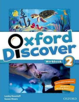 Oxford Discover 2. Workbook - фото книги