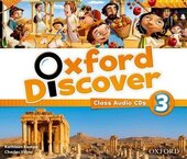 Oxford Discover 3. Class Audio CDs (набір із 3 аудіодисків) - фото обкладинки книги