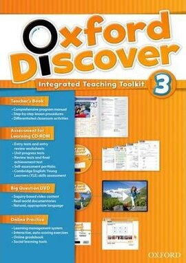 Oxford Discover 3. Integrated Teaching Toolkit (Teacher's Book+DVD+Online Practice) - фото книги