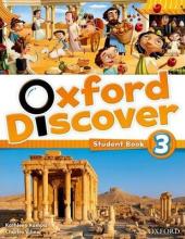 Oxford Discover 3. Student's Book - фото обкладинки книги