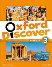Oxford Discover 3. Workbook - фото обкладинки книги
