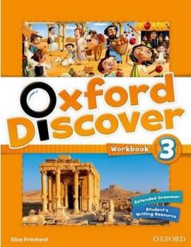 Oxford Discover 3. Workbook - фото книги