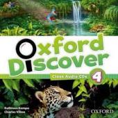 Oxford Discover 4. Class Audio CDs (набір із 3 аудіодисків) - фото обкладинки книги