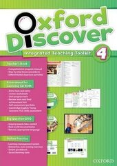 Oxford Discover 4. Integrated Teaching Toolkit (Teacher's Book+DVD+Online Practice) - фото обкладинки книги