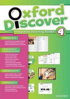 Oxford Discover 4. Integrated Teaching Toolkit (Teacher's Book+DVD+Online Practice) - фото книги