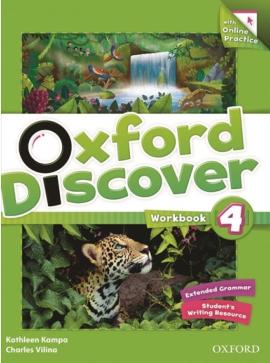 Oxford Discover 4. Workbook - фото книги