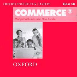 Oxford English for Careers: Commerce 2: Class Audio CD (аудіодиск) - фото книги