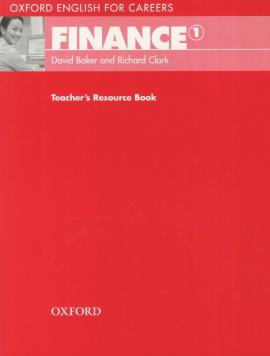 Oxford English for Careers: Finance 1: Teacher's Resource Book (підручник) - фото книги