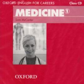 Oxford English for Careers: Medicine 1: Class Audio CD (аудіодиск) - фото книги
