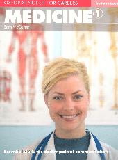 Oxford English for Careers: Medicine 1: Student's Book (підручник) - фото обкладинки книги