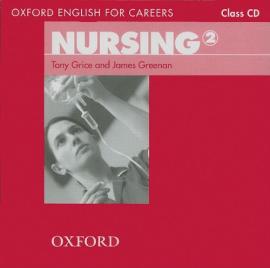 Oxford English for Careers: Nursing 2: Class Audio CD (аудіодиск) - фото книги
