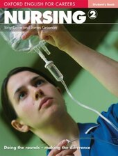 Oxford English for Careers: Nursing 2: Student's Book (підручник) - фото обкладинки книги