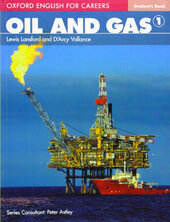 Oxford English for Careers: Oil and Gas 1: Student's Book (підручник) - фото обкладинки книги