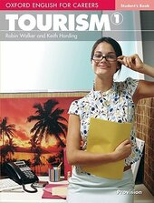 Oxford English for Careers: Tourism 1: Student's Book (підручник) - фото обкладинки книги