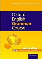 Oxford English Grammar Course Intermediate. with Answers CD-ROM Pack - фото обкладинки книги
