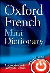 Oxford French Mini Dictionary - фото обкладинки книги