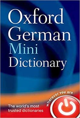Oxford German Mini Dictionary - фото книги