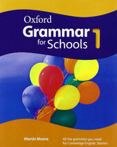 Oxford Grammar for Schools 1: Student's Book with DVD (підручник + диск) - фото обкладинки книги