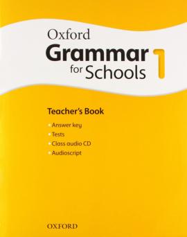 Oxford Grammar for Schools 1: Teacher's Book with Audio CD (підручник + аудiодиск) - фото книги