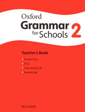 Oxford Grammar for Schools 2: Teacher's Book with Audio CD (підручник + аудiодиск) - фото обкладинки книги