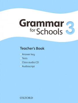 Oxford Grammar for Schools 3: Teacher's Book with Audio CD (підручник + аудiодиск) - фото книги