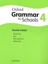 Oxford Grammar for Schools 4: Teacher's Book with Audio CD (підручник + аудiодиск) - фото обкладинки книги