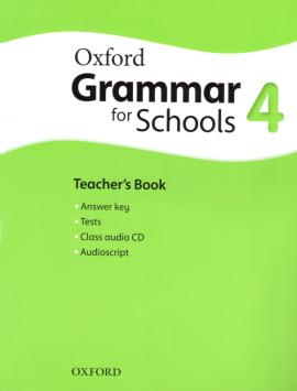 Oxford Grammar for Schools 4: Teacher's Book with Audio CD (підручник + аудiодиск) - фото книги