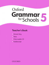 Oxford Grammar for Schools 5: Teacher's Book with Audio CD (підручник + аудiодиск) - фото обкладинки книги