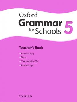 Oxford Grammar for Schools 5: Teacher's Book with Audio CD (підручник + аудiодиск) - фото книги