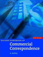 Oxford Handbook of Commercial Correspondence. New Edition - фото обкладинки книги