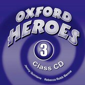 Oxford Heroes 3: Class Audio CDs (3) (аудіодиск) - фото обкладинки книги