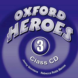 Oxford Heroes 3: Class Audio CDs (3) (аудіодиск) - фото книги