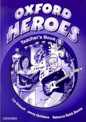 Oxford Heroes 3: Teacher's Book (книга для вчителя) - фото обкладинки книги