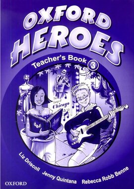 Oxford Heroes 3: Teacher's Book (книга для вчителя) - фото книги