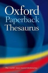 Oxford Paperback Thesaurus - фото обкладинки книги