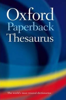 Oxford Paperback Thesaurus - фото книги