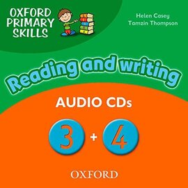 Oxford Primary Skills 3 & 4: Class Audio CD (аудіодиск) - фото книги