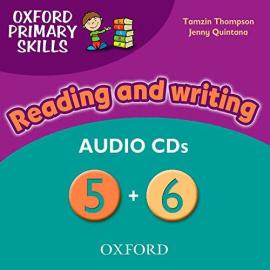 Oxford Primary Skills 5 & 6: Class Audio CD (аудіодиск) - фото книги