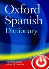 Oxford Spanish Dictionary - фото обкладинки книги