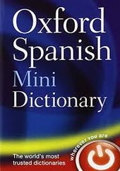Oxford Spanish Mini Dictionary - фото обкладинки книги