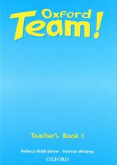 Oxford Team 1: Teacher's Book (книга для вчителя) - фото обкладинки книги