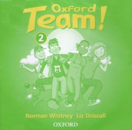 Oxford Team 2: Class Audio CDs (2) (аудіодиск) - фото книги