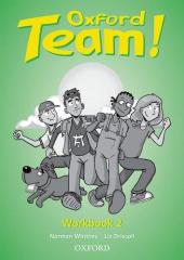 Oxford Team 2: Workbook - фото обкладинки книги