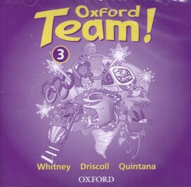 Oxford Team 3: Class Audio CDs (2)  (аудіодиск) - фото книги