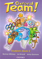 Oxford Team 3: Student's Book (підручник) - фото обкладинки книги