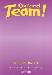 Oxford Team 3: Teacher's Book (книга для вчителя) - фото обкладинки книги