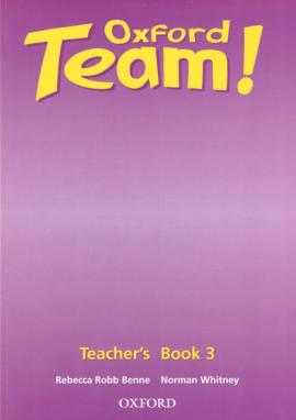 Oxford Team 3: Teacher's Book (книга для вчителя) - фото книги