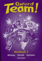 Oxford Team 3: Workbook - фото обкладинки книги