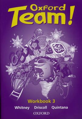 Oxford Team 3: Workbook - фото книги